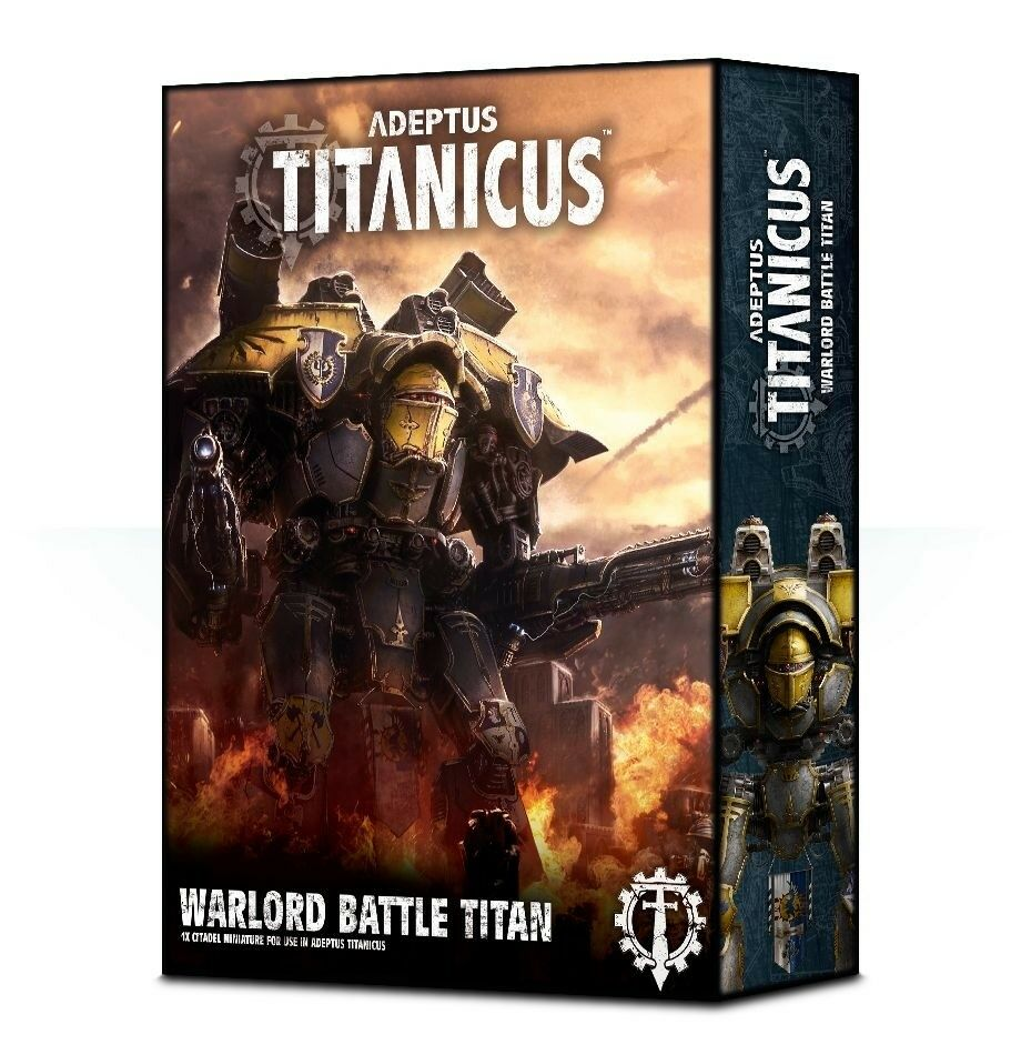 Adeptus Titanicus Seigneur de guerre bataille Titan 400-06