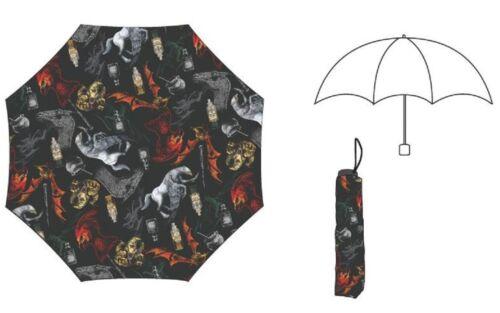 Harry Potter Fantastic Beasts Creatures Compact Umbrella New