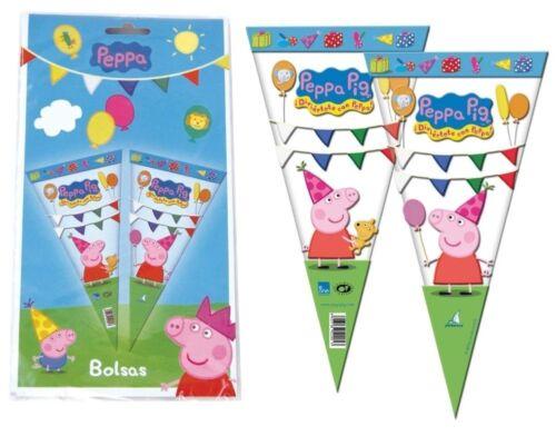 Peppa Pig Fiesta Cumpleaños Gama Vajilla Pancartas Globos Artículos Decoración