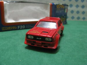 Rare Vintage - Fiat 131 Abarth 1/43 Dandy Tomica F20