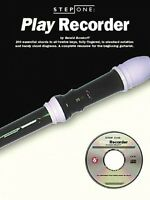 Step One: Play Recorder Book And Cd 014031471