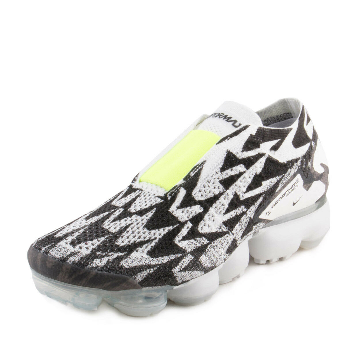 Nike Uomo aria vapormax fk moc 2 / acronimo luce ossa / volt-light osso aq0996-001