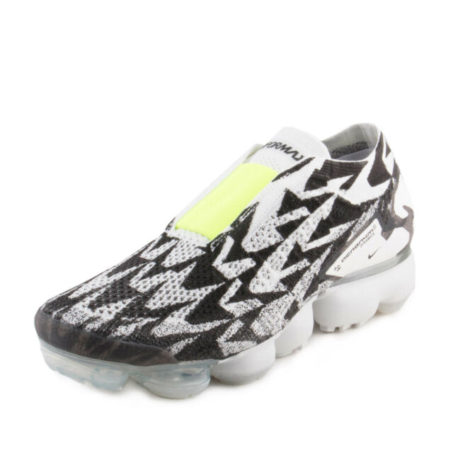 san francisco 34635 5bf0b NIKE Mens AIR VAPORMAX FK MOC 2  ACRONYM LIGHT BONEVOLT-LIGHT BONE
