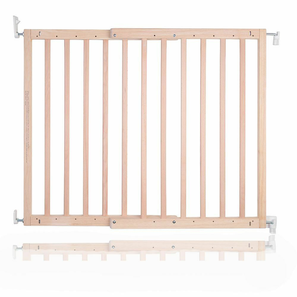 Safetots Wooden Baby Gate Pressure Fit Wide Walkthough