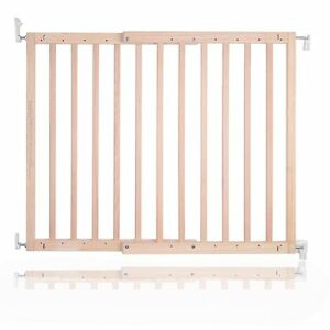 Safetots Chunky Deluxe Screw Fit Wooden Stair Gate Infant