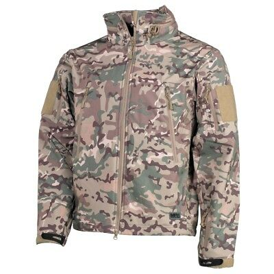 Premium Tactical Military Waterproof Soft Shell Jacket SCORPION - US Multicam