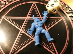 Muscle men kinnikuman kinkeshi blue pvc japanese Figure//Figurine japan ** #105