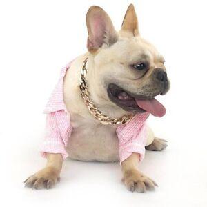 Pet Dog Training Chain Collar Stainless Steel Large Pitbull / Bulldog Giant Dog