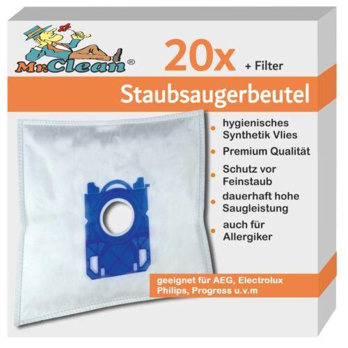 Philips FC8243//09 PowerGo FC 8243 //09 20 Mr.Clean Staubsaugerbeutel geeig