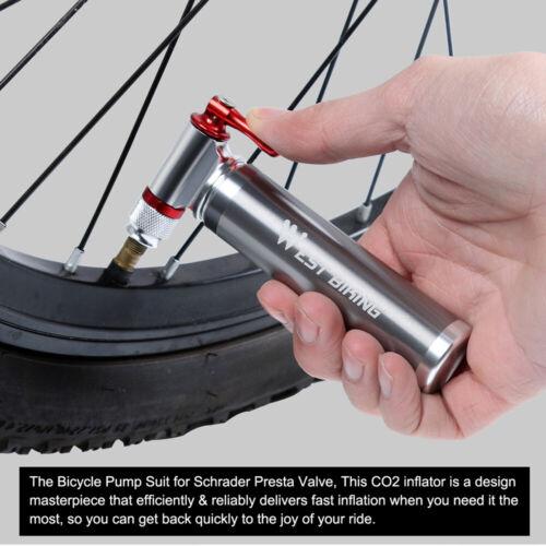 Mini Portable Bike Bicycle Tyre Inflator Pump Cycling Mountain Bike Cycle Tire√