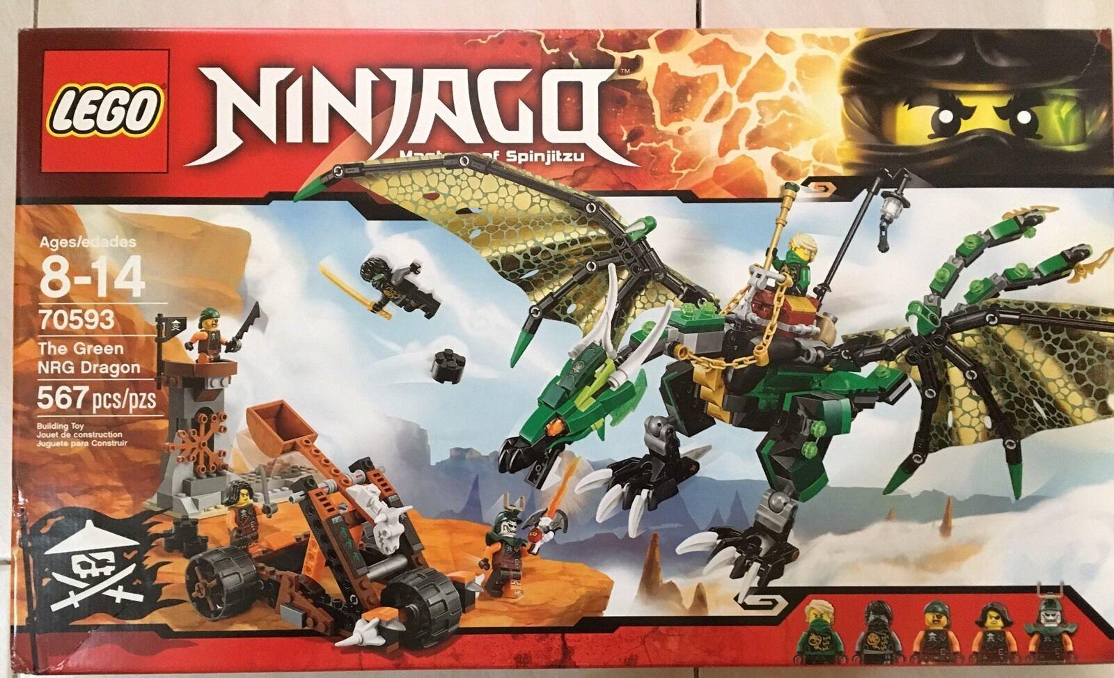 Lego Ninjago Skybound 70593 le vert NRG Dragon   magasin d'offre