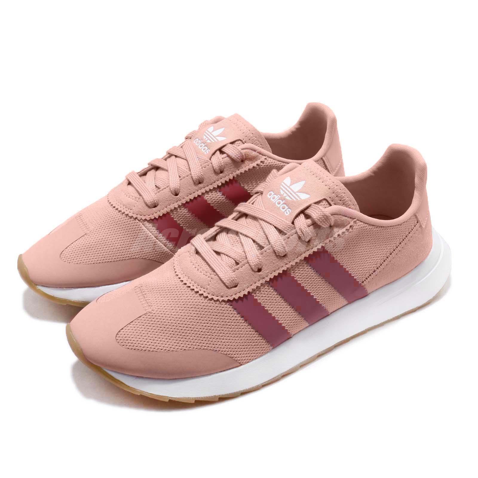 adidas Originals FLB_Runner W Pink Spirit Trace Maroon Gum Women Shoes B28047