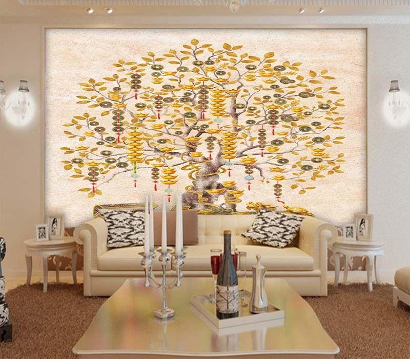 Radermachera Sinica 3D Full Wall Mural Photo Wallpaper Printing Home Kids Decor