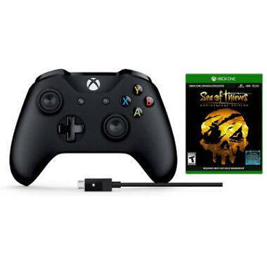 Microsoft Xbox Wireless Controller + Sea of Thieves: Anniversary Edition