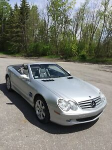 MERCEDES SL500 FIRST OWNER NEVER WINTER DRIVEN