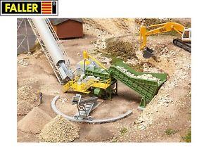 Faller-H0-130173-Backenbrecher-mit-Foerderband-NEU-OVP