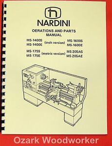 NARDINI-Lathe-MS-1400S-E-1600S-E-175S-E-205AS-E-Manual-0481