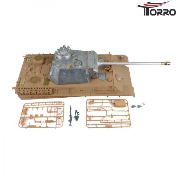 Oberwanne avec metallturm 360 ° BB Heng Long Long Long taigen torro chars 1:16 panther G b71cb4