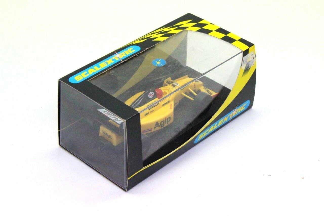 Scalextric C2112 Yellow AGIP F1 Car 1 32 Boxed N5