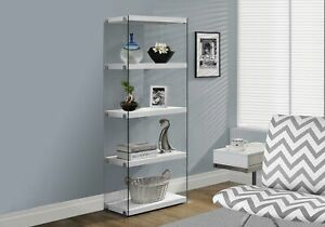 Monarch-Specialties-I-Bookcase-5-Shelf-Etagere-Bookcase-Contemporary-Look-wit