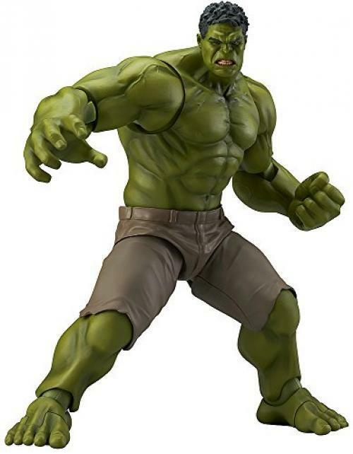 NEW Figma Avengers Hulk Non Scale Abs Pvc Painted Action Figure /B1 F/S