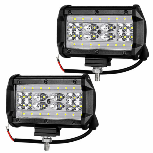 6X Car Truck CREE LED Work Spot Light Flood Driving Bright SUV 168W 12V 24V 5 in