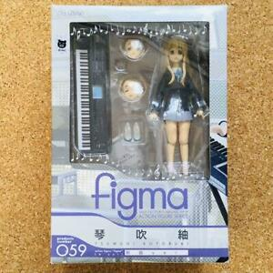Uniform ver K-On from Japan Used Max Factory figma 059 Tsumugi Kotobuki