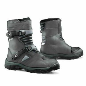on feet shots of exclusive range lowest price Details about Forma Adventure Low motorcycle boots, mens, grey, unboxed adv  road riding
