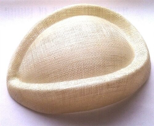 Wedding// Ascot Hostess Sinamay Shape Pill Box Hat Base// Races