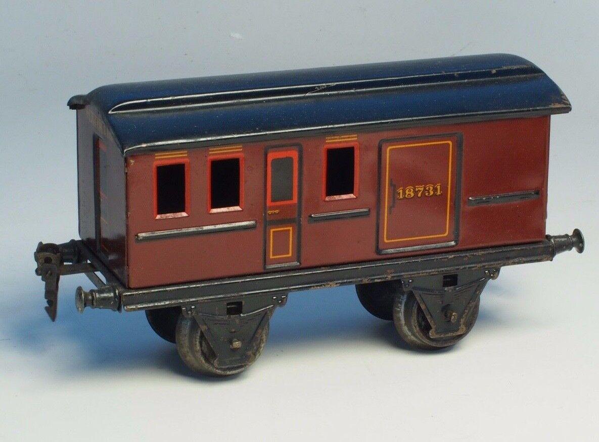 MARKLIN Scale 1 PRE-WAR Trains  GAUGE  I Vintage Metal PASSENGER CAR 18731