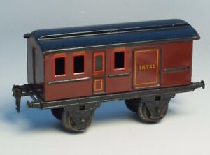 MARKLIN-Scale-1-PRE-WAR-Trains-GAUGE-I-Vintage-Metal-PASSENGER-CAR-18731