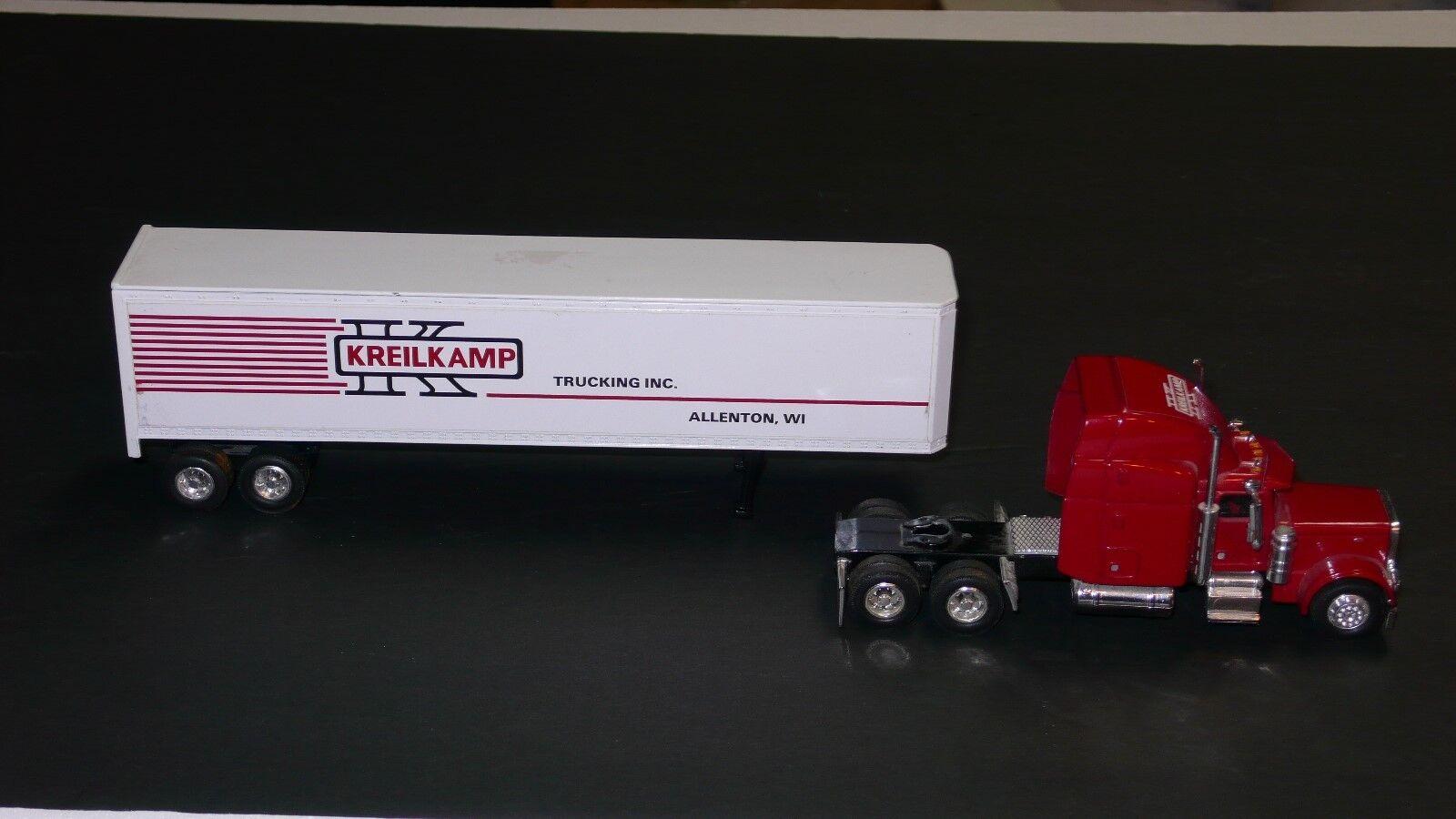 Peterbilt 379 Kreilkamp camiones Allenton Wi Semi Camión Remolque 1 64 Liberty