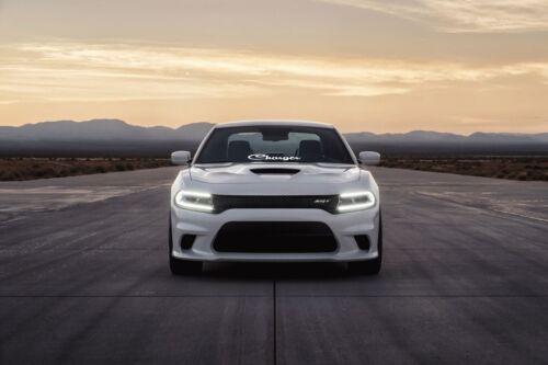 """Charger Dodge 23/"""" Windshield Banner Sticker Decal Decals hemi srt mopar hellcat"""
