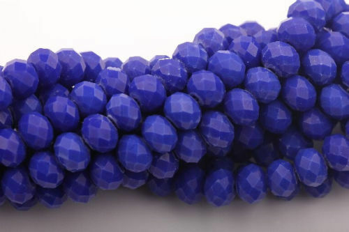 Lots Czech Crystal Glass Round Rondelle Loose Spacer Beads Charms Jewelry Making