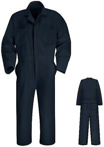 Details About Navy Blue Coveralls New Red Kap All Sizes Ct10 Uniforms