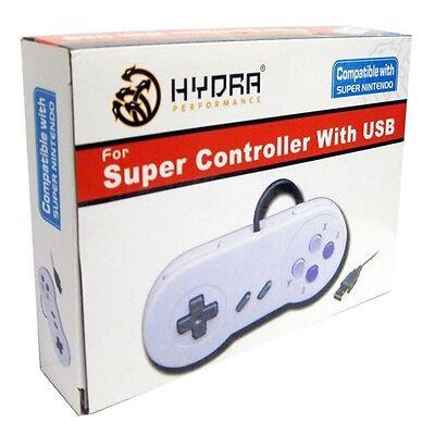 SNES USB Retro Super Nintendo Controller For PC/MAC New In The Box