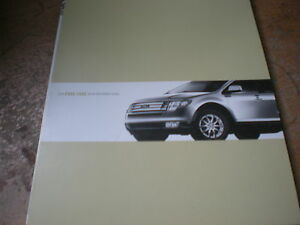 2008 ford edge factory quick reference owners manual. Black Bedroom Furniture Sets. Home Design Ideas
