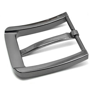 Stainless Steel Pin Buckle for Men Leather Belt Replacement Snap On ... c5416e67ef4