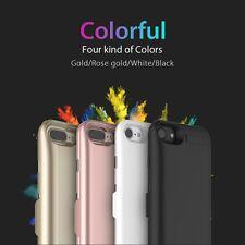 Genuine GOLD CASE iPhone 7 BATTERIA ESTERNA POWER PACK ricarica COVER 5000mAh