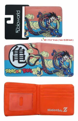Dragon Ball Z 悟 Logo Portefeuille Hommes Court Sac à main DBZ Anime autour de cadeau 4 Style Cool