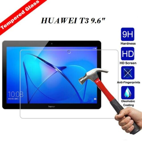 100/%Genuine TEMPERED GLASS Screen Protector Cover Huawei MediaPad T3 10 9.6 inch