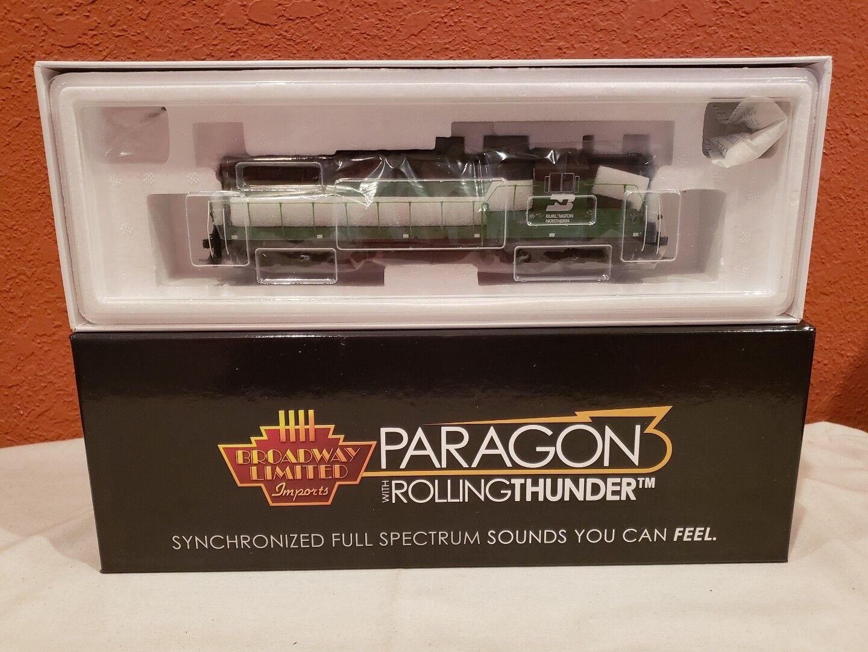 Escala Ho consumos Paragon 3 Rolling Thunder 4945 EMD SD7, BN 6024 DCC sonido nuevo.