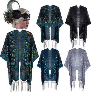 1920s-Shawl-Wrap-Sequin-Fringe-Bolero-Evening-Scarf-Cape-For-Gatsby-Prom-Formal