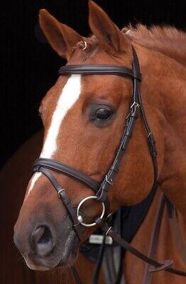 Horseware Amigo Mio Bridle with Rubber Reins Brown Cob
