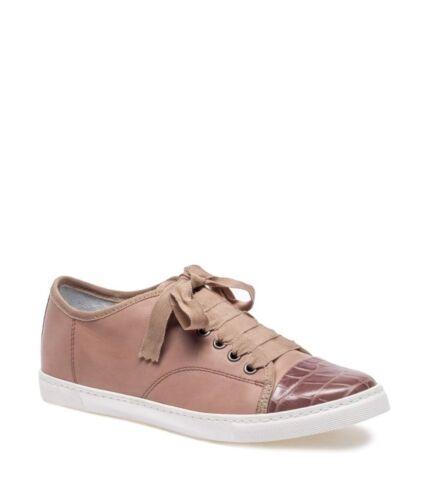 Pointure Plates Femmes Pink Lanvin Chaussures 8 41 Uk Designers Baskets xTvYH