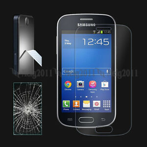 Premium tempered glass film screen protector for samsung - Protection galaxy trend lite ...