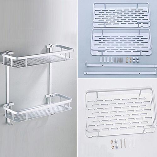 Chrome Bath Corner Shelf Unit Keep Tidy Your Shower With Storage Rack 8C