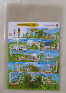 2017-NEW-ZEALAND-GREAT-ROAD-TRIP-14-STAMP-SHEETLET-MINT