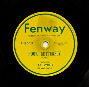 JAY-WHITE-on-Fenway-1956-Poor-Butterfly-Unknown-Tune