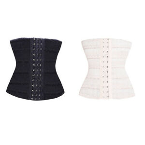 Three-Row-Buckle-Body-Build-Puerperal-Corset-Body-Shapers-Waist-Trainer-JT1